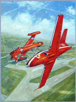 RED KNIGHT HANDOVER 1968 By Don Connolly