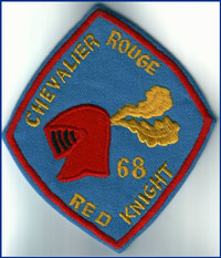 THE RED KNIGHT Crest 1968
