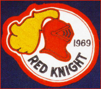 THE RED KNIGHT Crest 1969