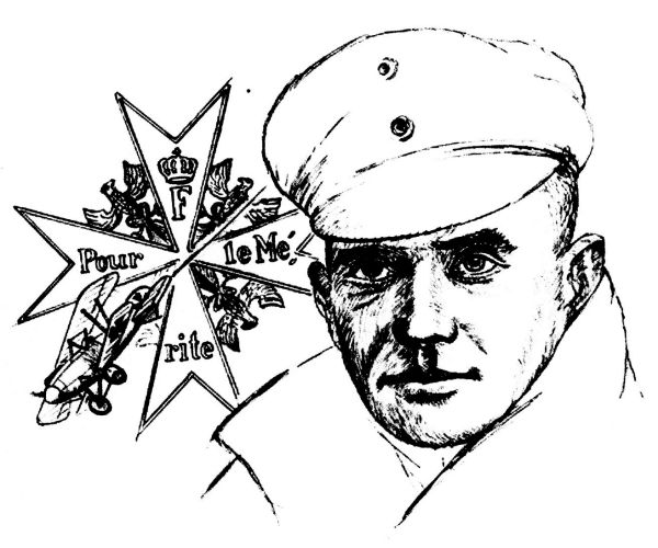 'Manfred von Richthofen' By Don Connolly